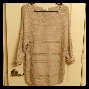 Scoop Neck Tunic Sweater